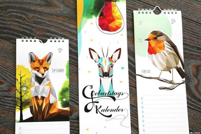 Geburtstagskalender monkimia_Design