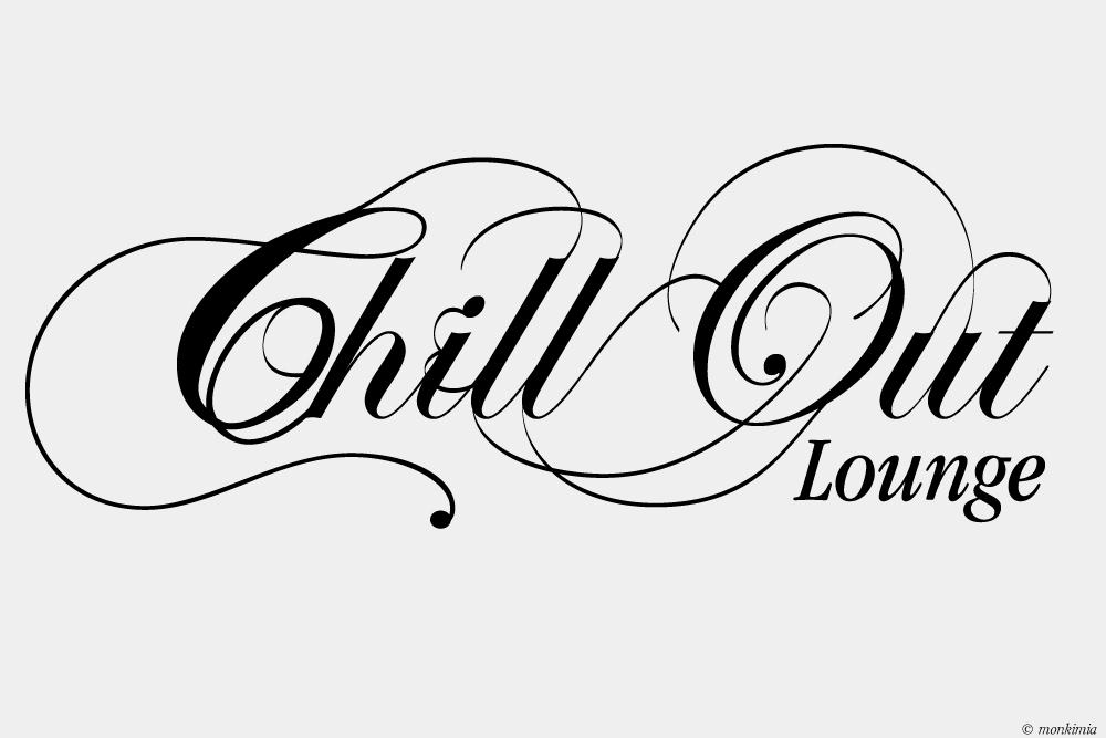 ChillOut Lounge Wandtattoo
