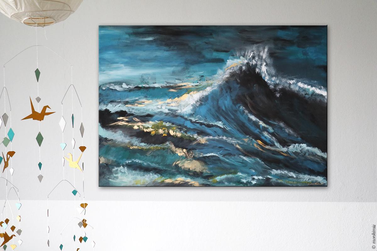 GhostShip monkimia Art Wasser malen