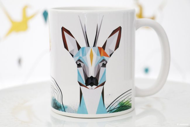 Tasse Hirsch Illustration