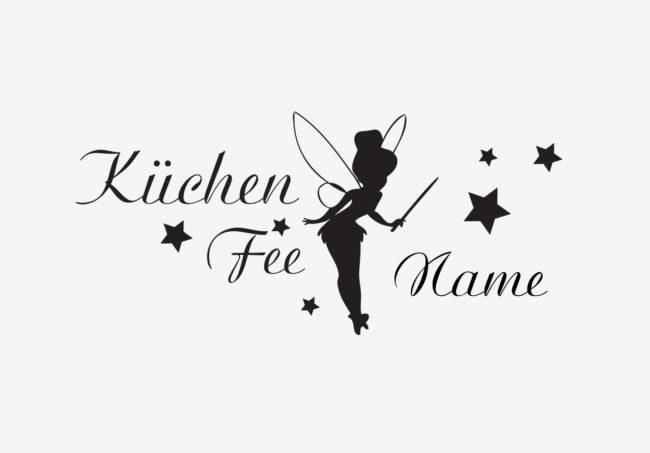 Kuechenfee Name Wandtattoo