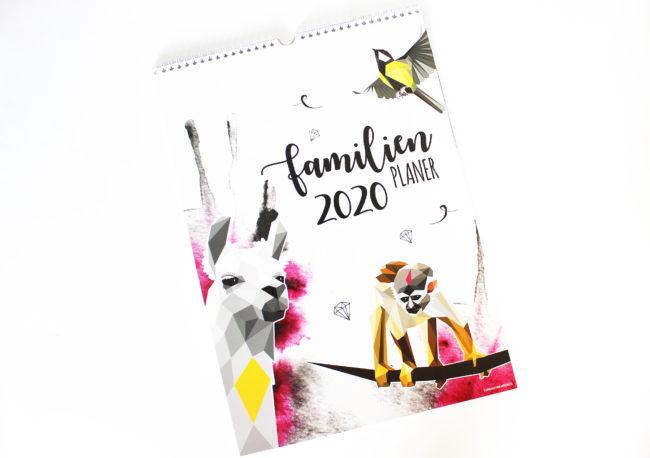 Familienplaner 2020 monkimia