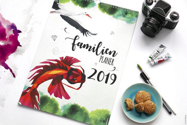 Familienplaner monkimia 2019