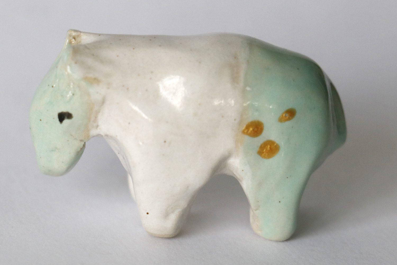 Tapir Sumo Glueckstier Keramik