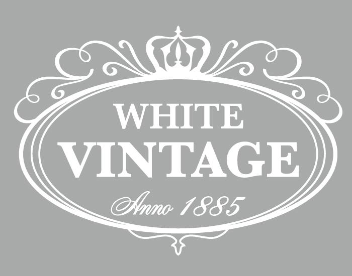 Möbeltattoo white vintage anno