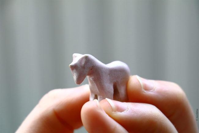 Einhorn Keramiktier