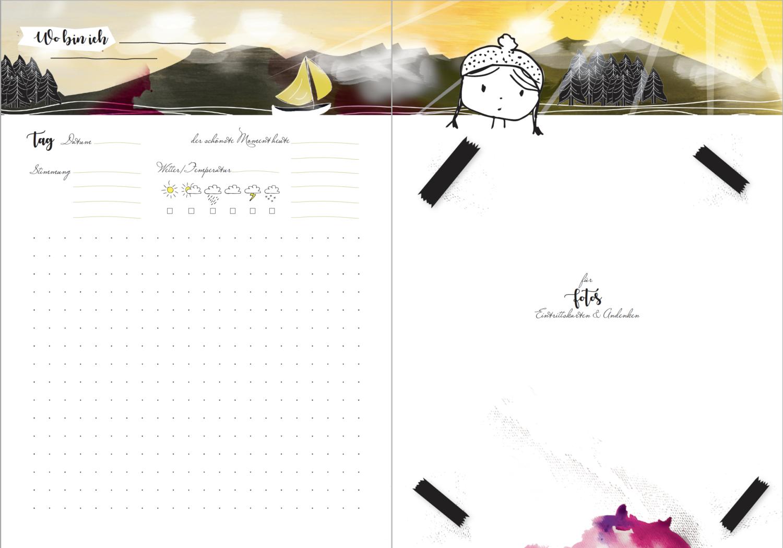 DIY Tagebuch