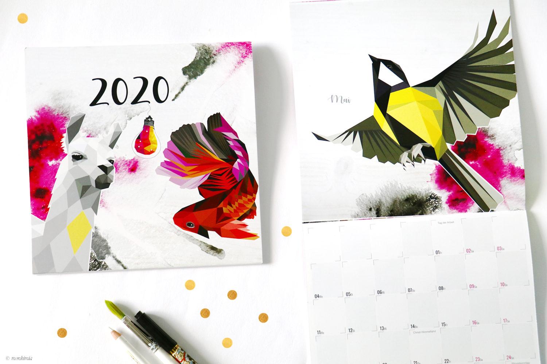 Kalender 2020 Monkimia