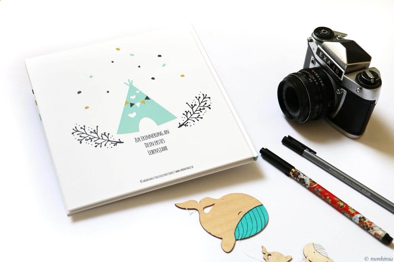 Erinnerungsbuch Baby