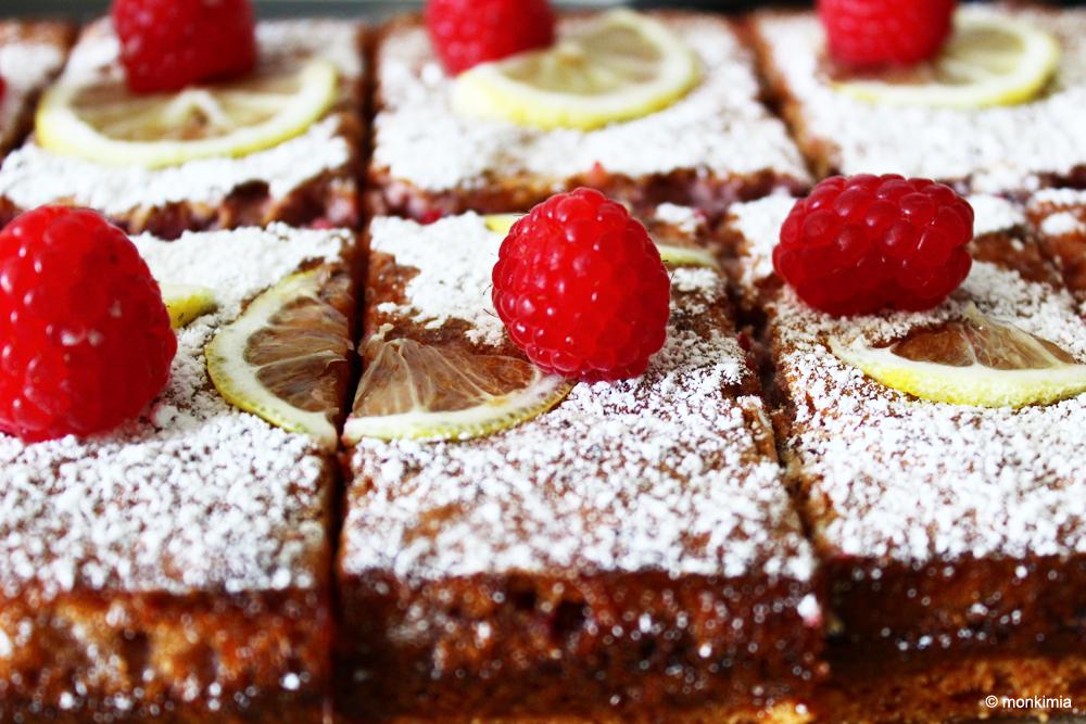Zitronen Himbeer Kuchen Rezept