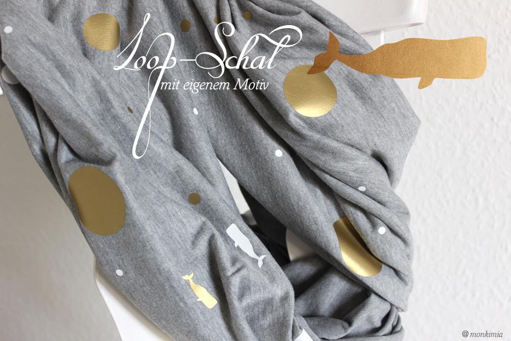 Loop-Schal monkimia design