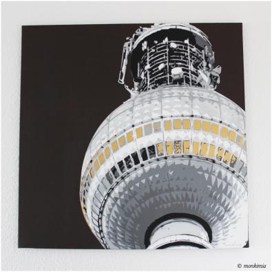 Fernsehturm – Monkimia-Kunst