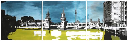 Monkimia – Oberbaumbrücke Berlin Kunst