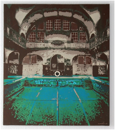 Kunst Schwimmbad – Slow Decay