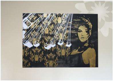 Monkimia – keep your secret - Kunst Acryl