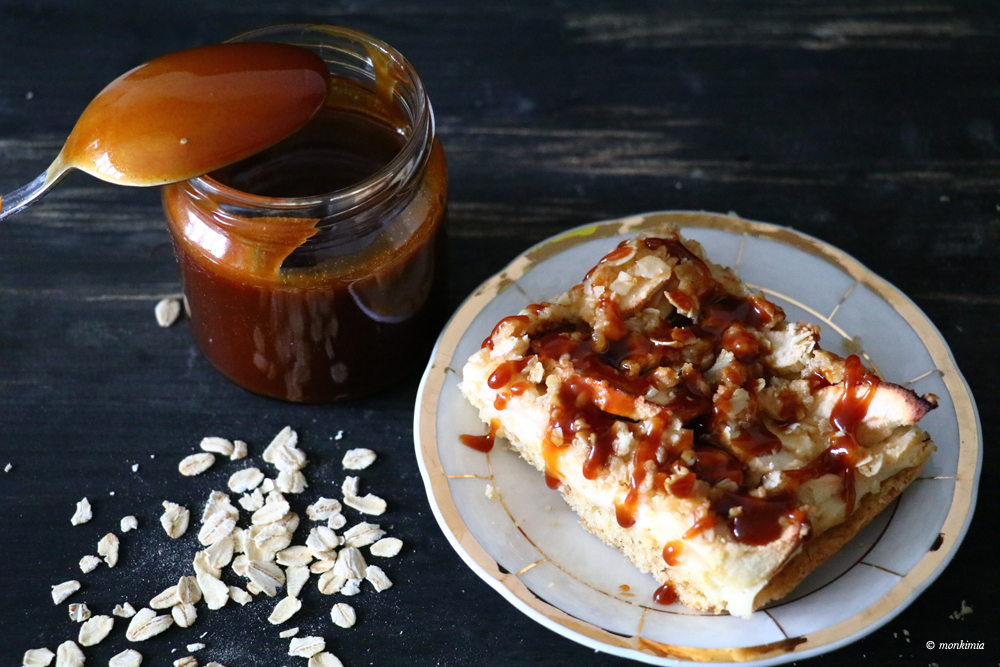 caramel oats cheesecake recipe