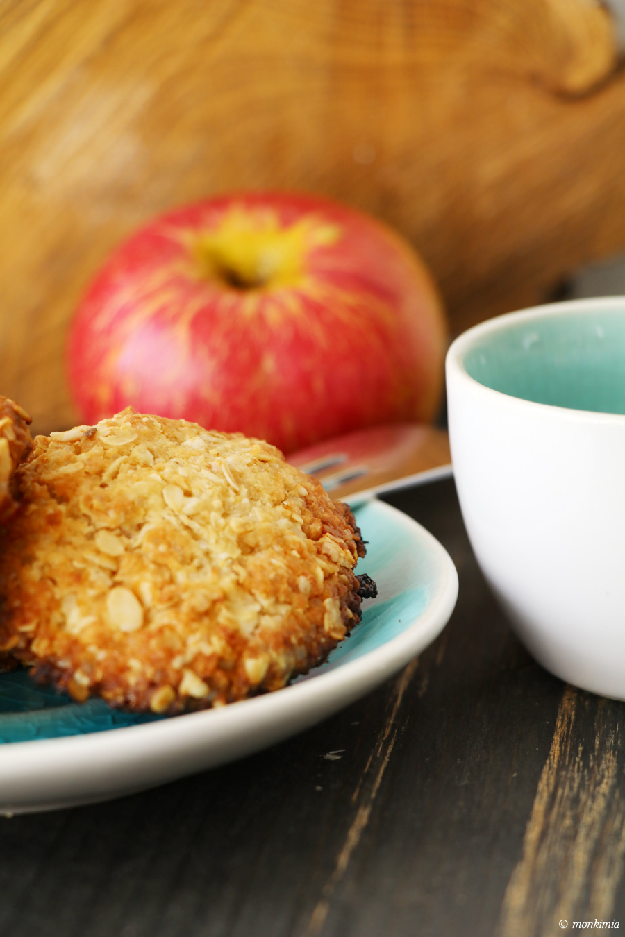 vegane haferflocken-dinkel-kekse