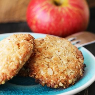 vegane haferflocken-kekse