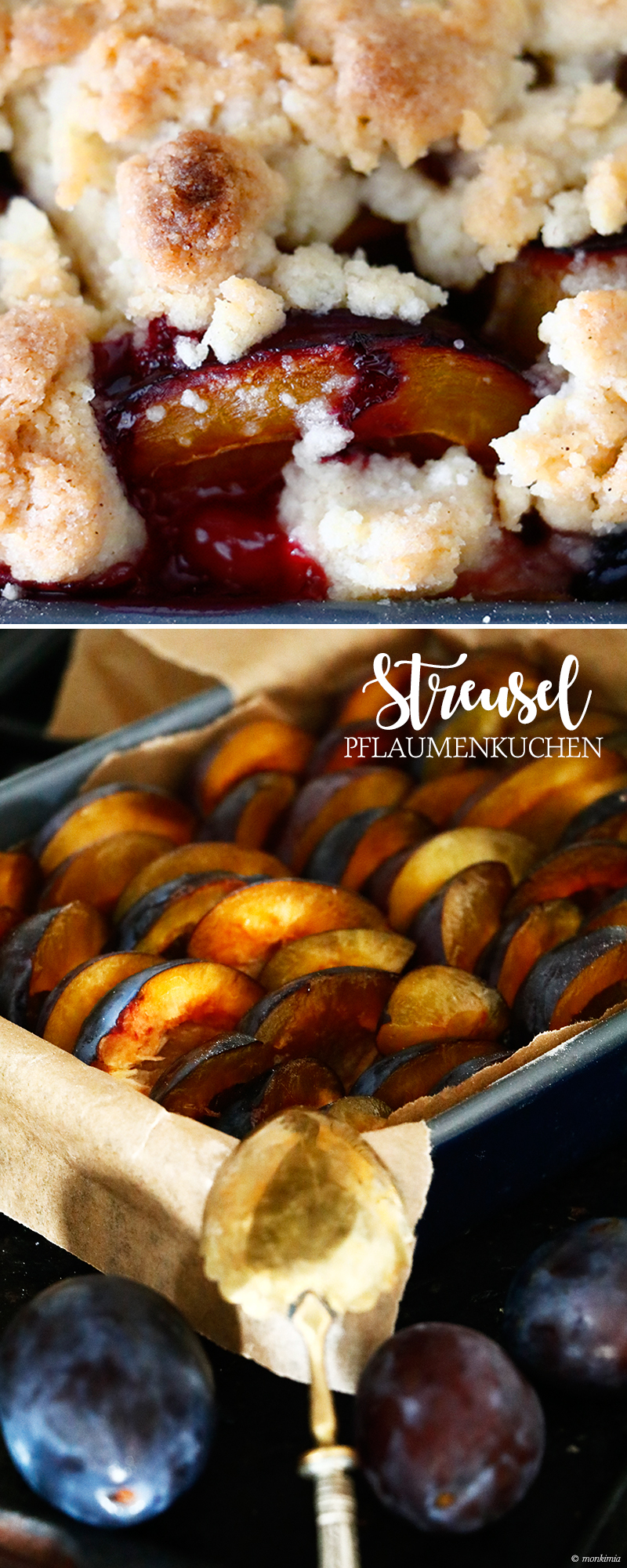 Streusel Kuchen Pflaumen